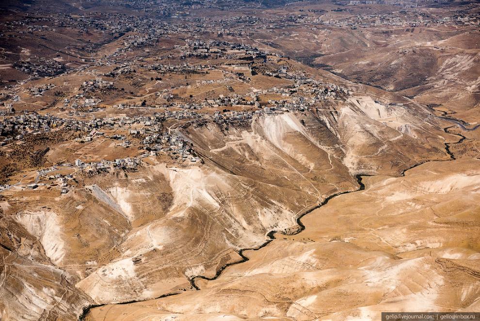 Ручей Кедрон и начало Кедронской долины