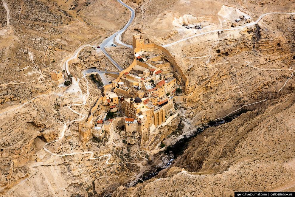 Монастырь Мар Саба в Иудейской пустыне