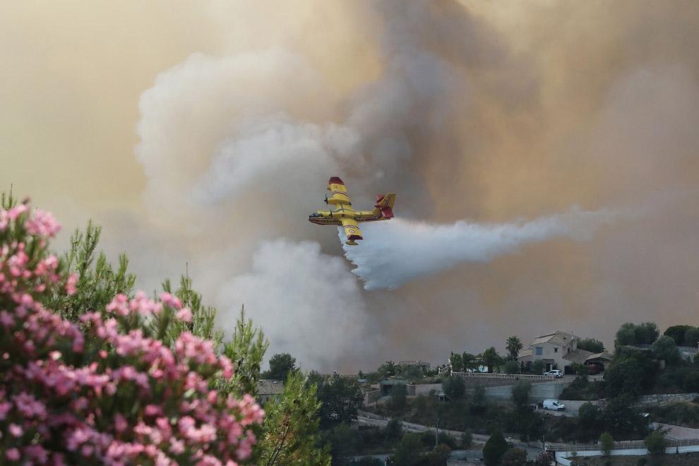 В середине июля пожары были и в Ницце