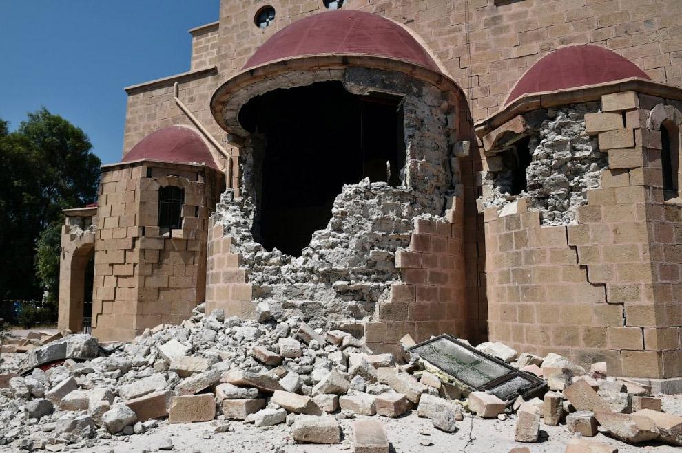 Средневековая крепость на греческом острове Кос