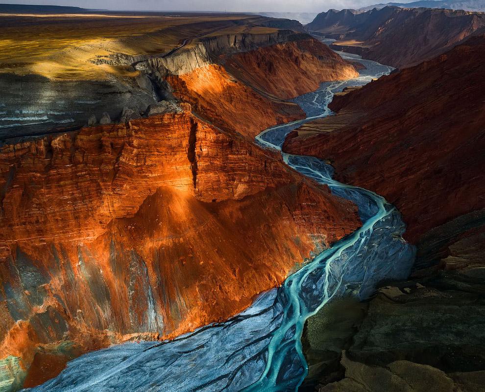 Большой каньон Душанзи, Китай