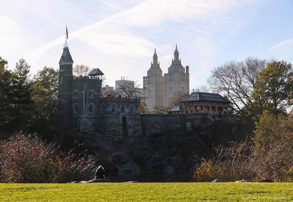 Замок Бельведер.
