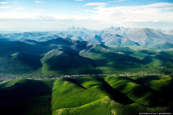 Верхоянский хребет в Якутии.