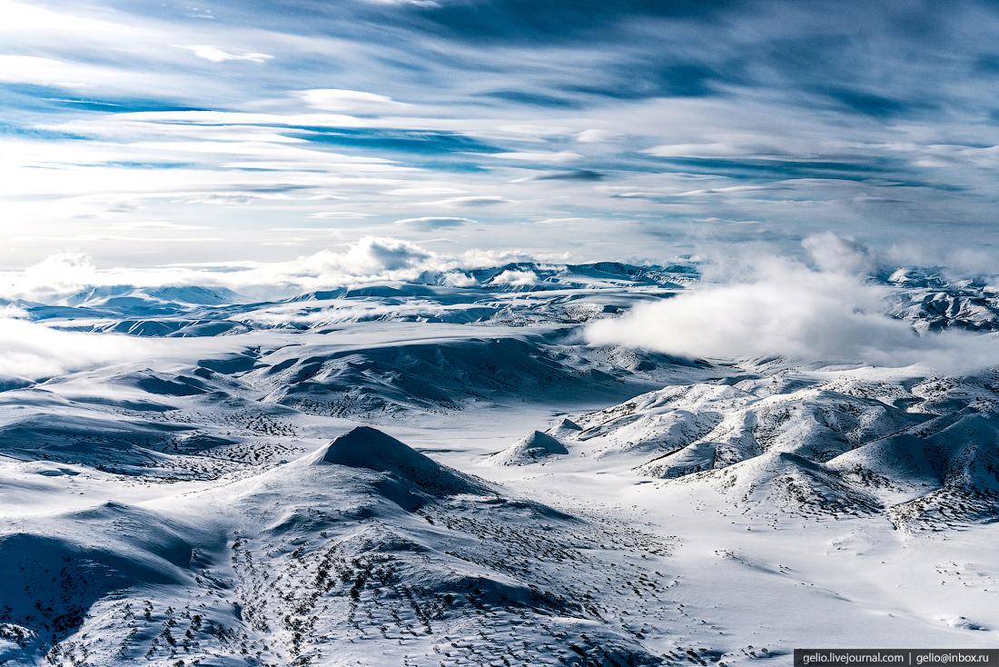 Полуостров Камчатка.