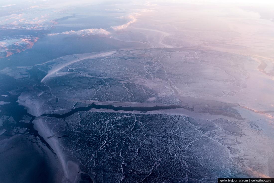 Ледостав на Байкале.