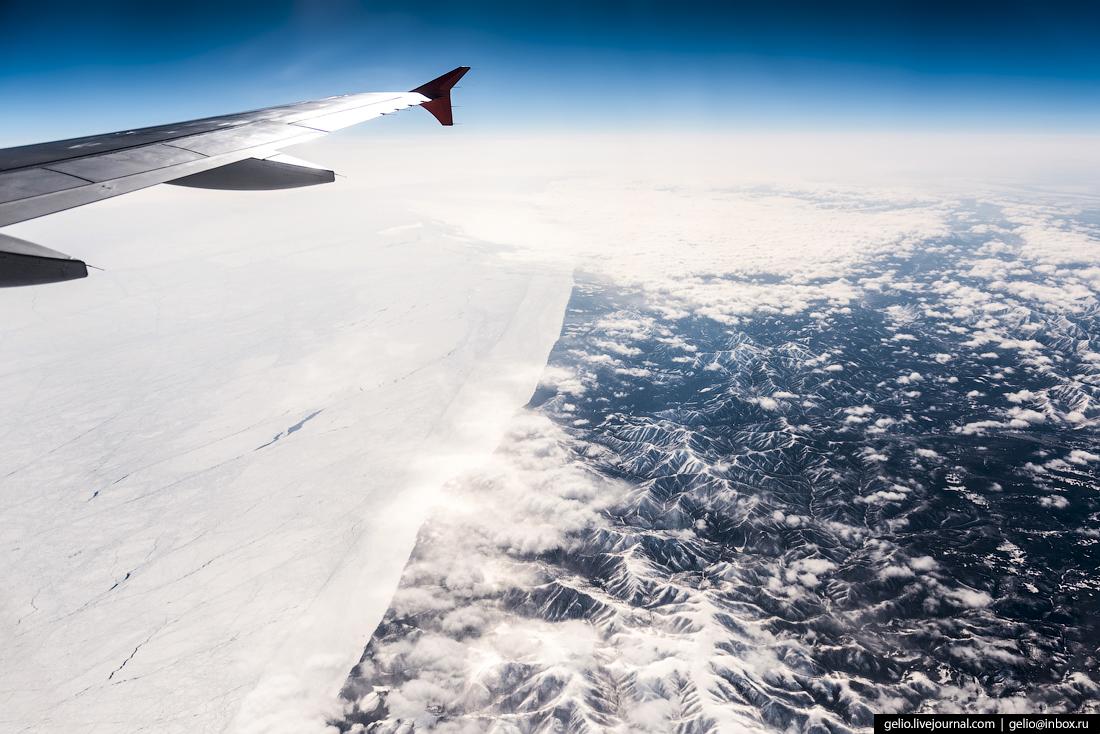Берег Охотского моря.