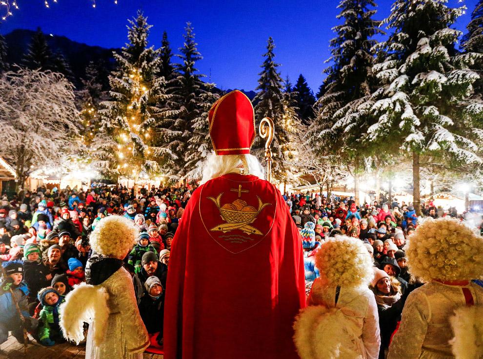 Предрождественское мероприятие в Майрхофене, Австрия