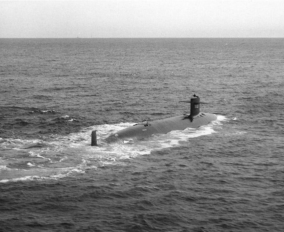 Подводная лодка ВМС США «Трешер», 1963