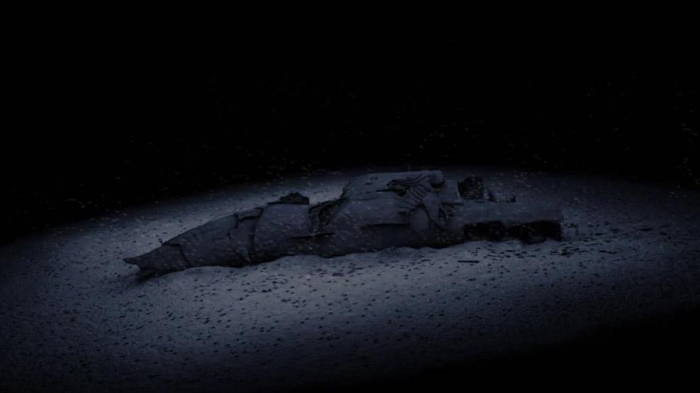 Подводная лодка к-129 на дне