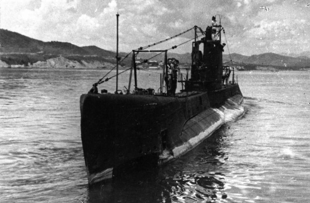 Советская подводная лодка С‑117 «Щука»