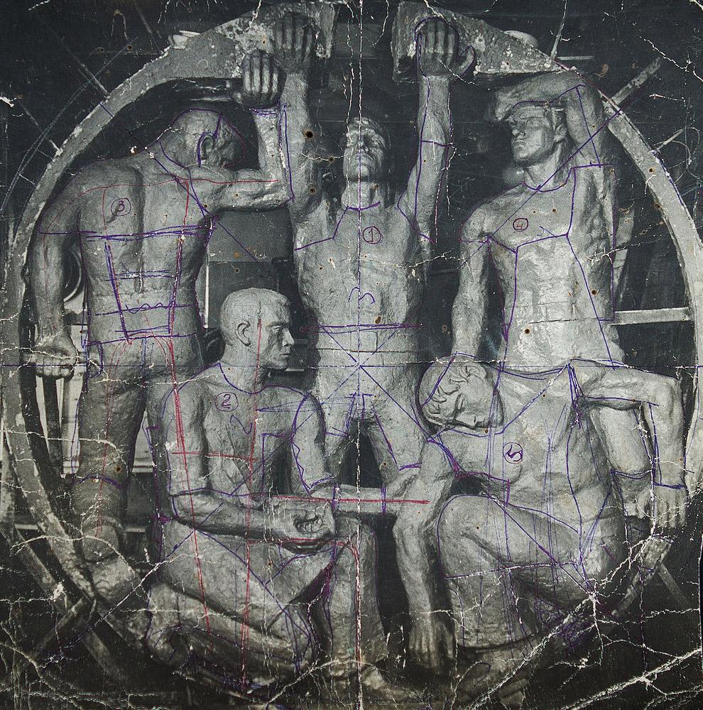 Памятник экипажу К-8
