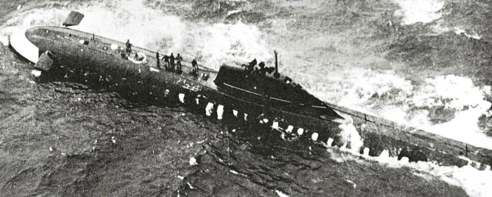Советская подводная лодка K-8, 1970