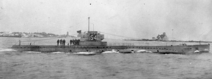 Субмарина ВМС США SS-109