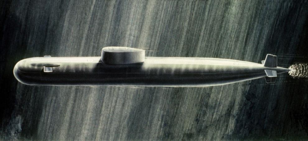 Китайская подлодка «Мин 361», 2003