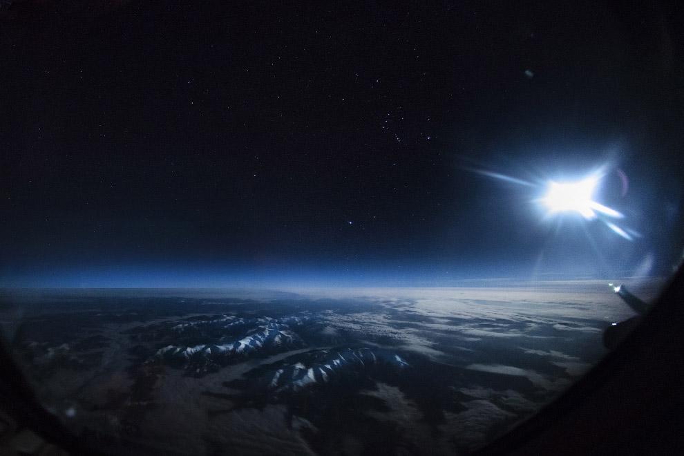 лунный свет над Монголией