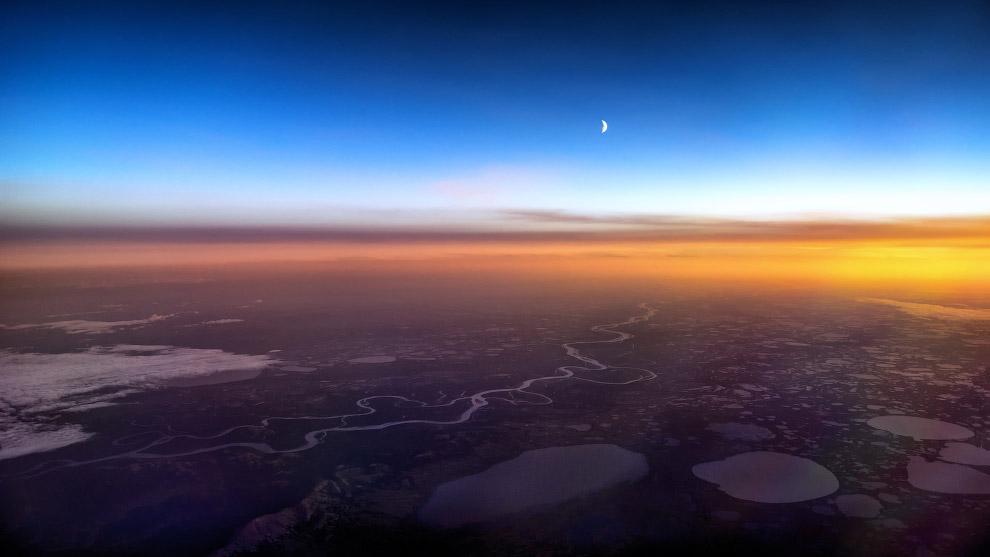 Закат над Аляской