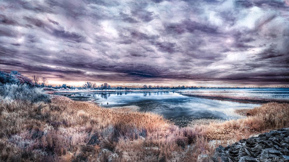 Озеро в Чернобыльской зоне отчуждения