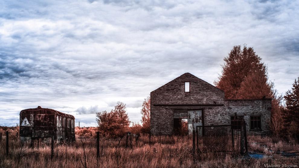 Заброшенная ферма в Чернобыльской зоне отчуждения