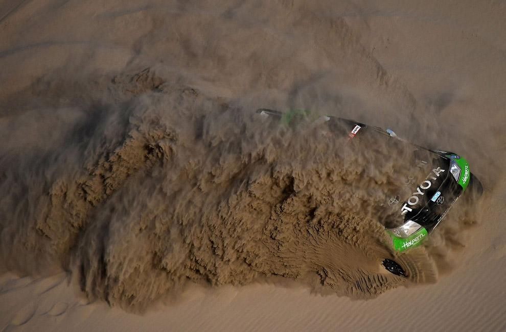 Экстремальный проезд по дюнам