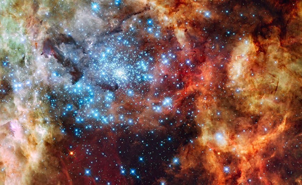 R136 — компактное звёздное скопление