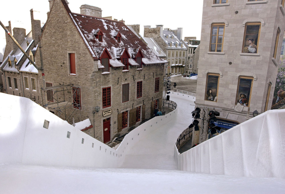 Canada Crashed Ice Course