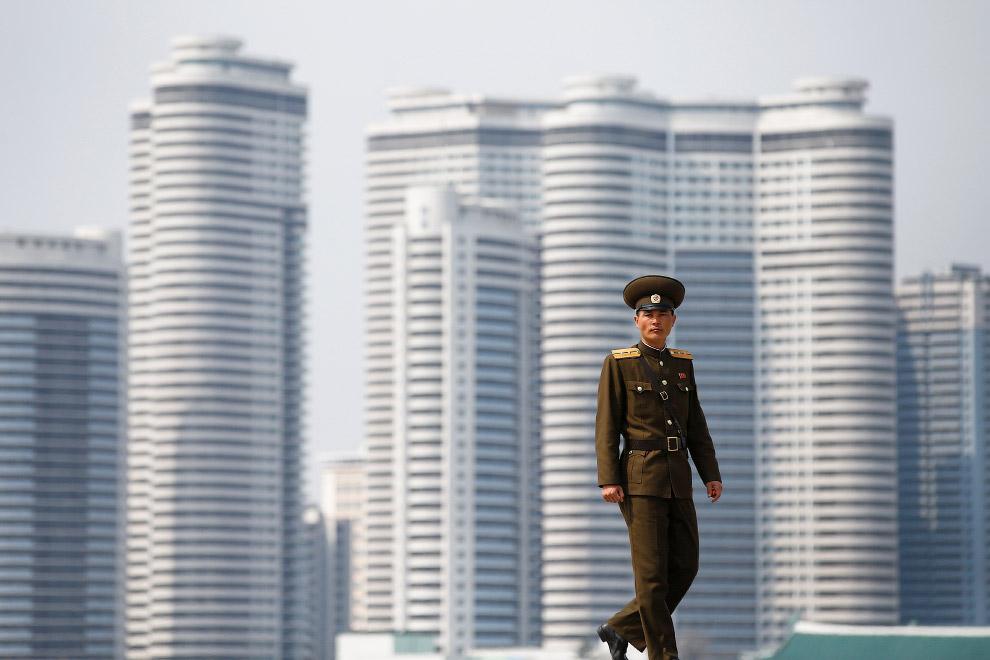 Архитектура центральной части Пхеньяна