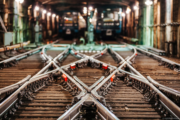 Что не видит пассажир метро