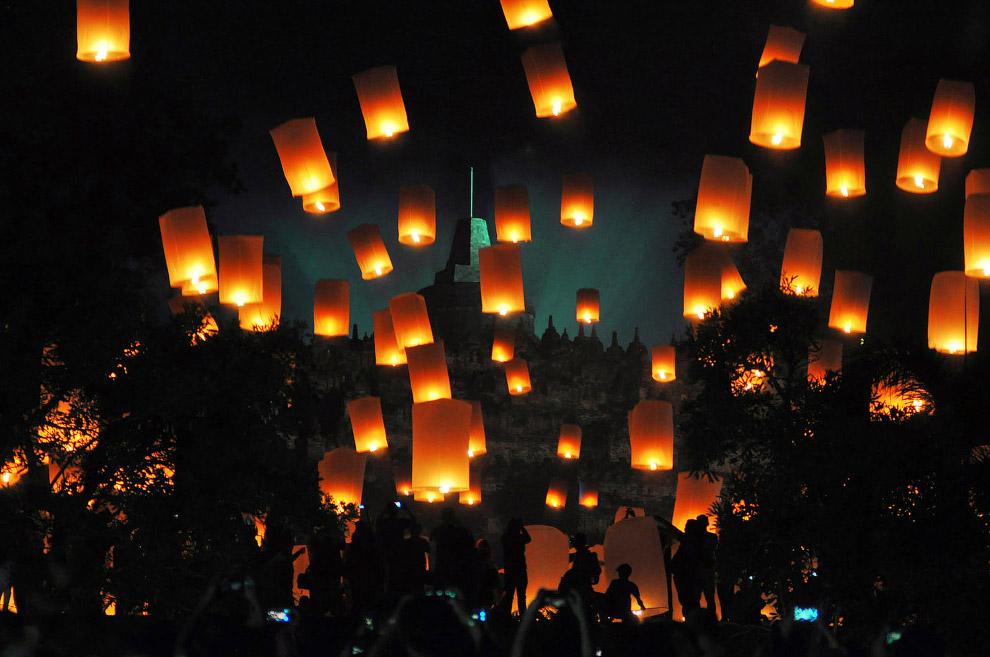 Новый год в Магеланге, Индонезия