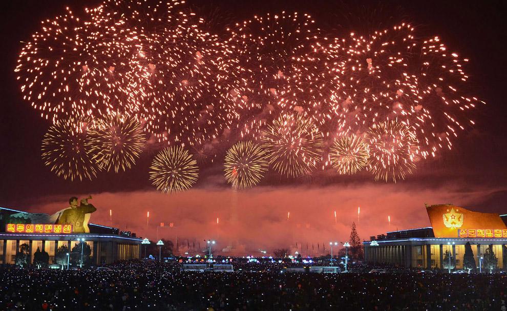 Новий рік в Пхеньяні