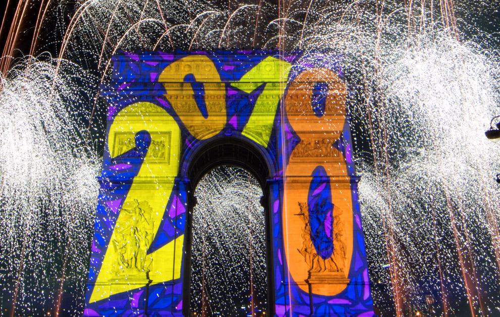 Новий рік в Нью-Йорку
