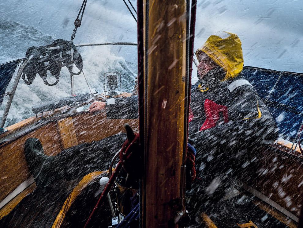 Непогода в Балтийском море