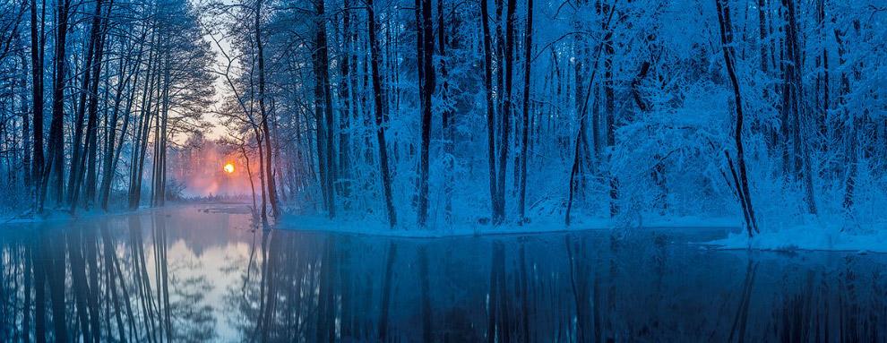 Зимний пейзаж из Эстонии