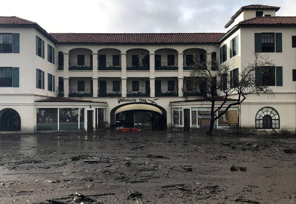 Отель Montecito Inn выглядит не по курортному
