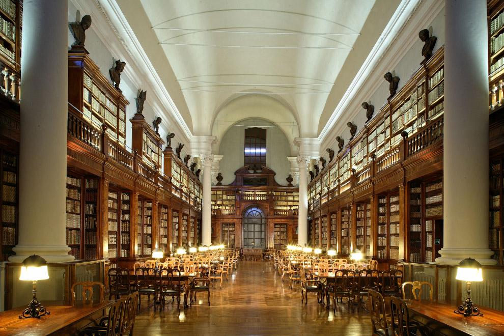Богатая библиотека университета заключает в себе более 200 тысяч томов