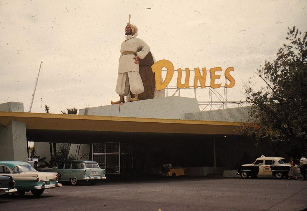 Hotel Dunes, Las Vegas.