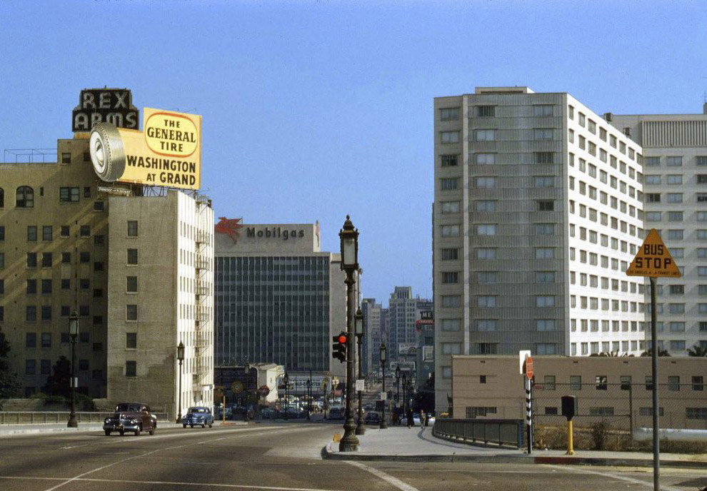 Лос-Анджелес, 1950 год.