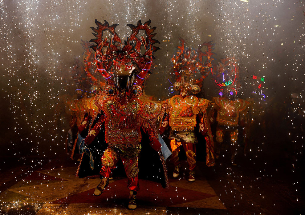 Карнавал в Оруро, Боливия