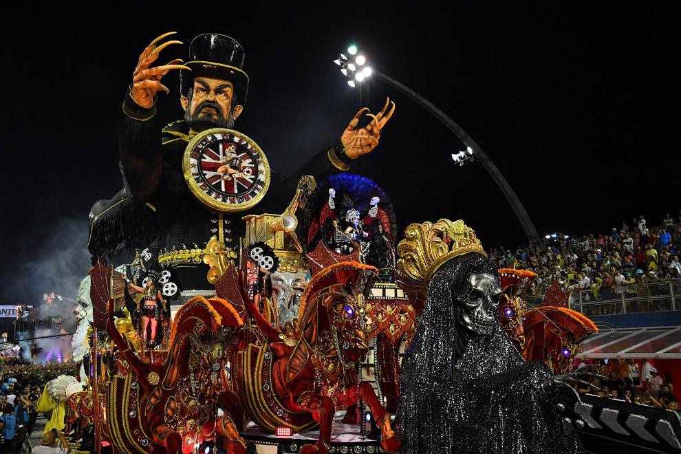 Карнавал в Сан-Паулу