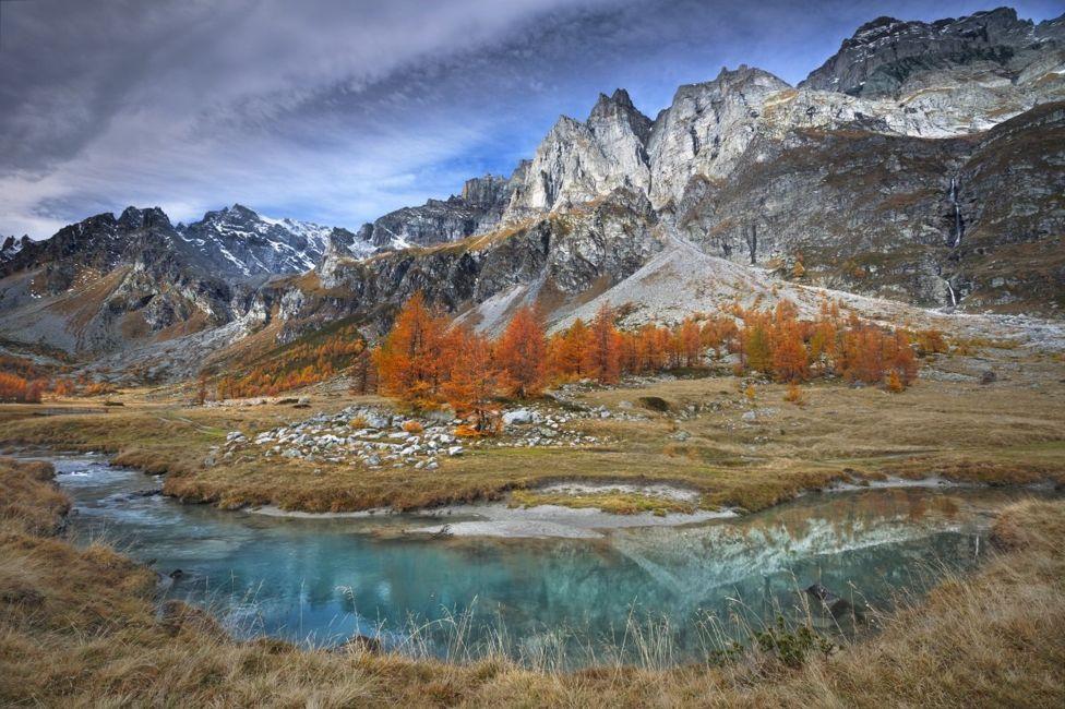 Пейзажи из области Пьемонт, Италия