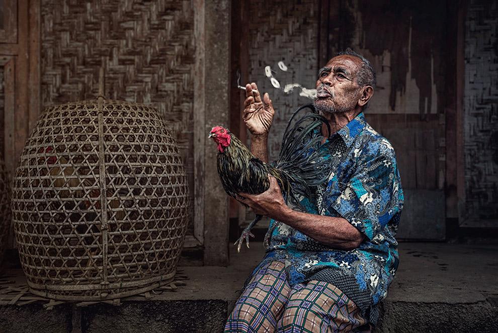 Довольный жизнью житель Бали