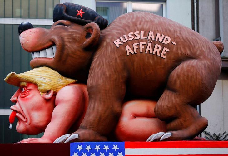 Политико-юмористический карнавал Rose Monday из Германии