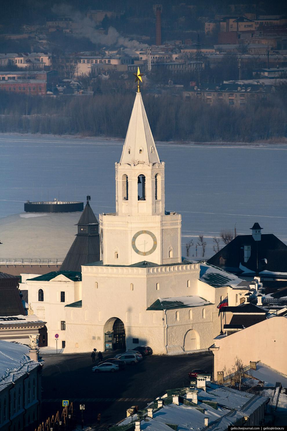 Спасская проездная башня