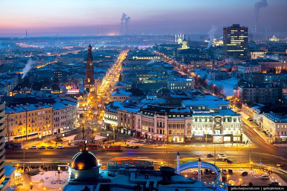 Центральная площадь Казани