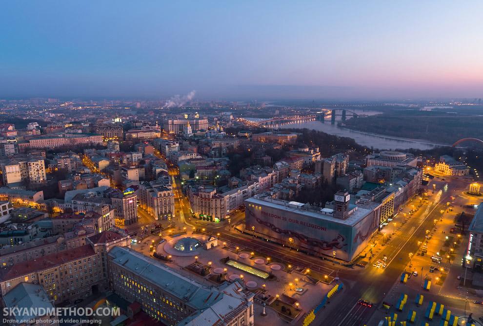 Майдан — центральная площадь Киева
