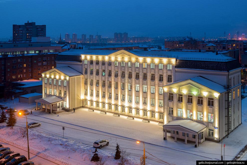 Департамент муниципального имущества и земельных отношений Красноярска.