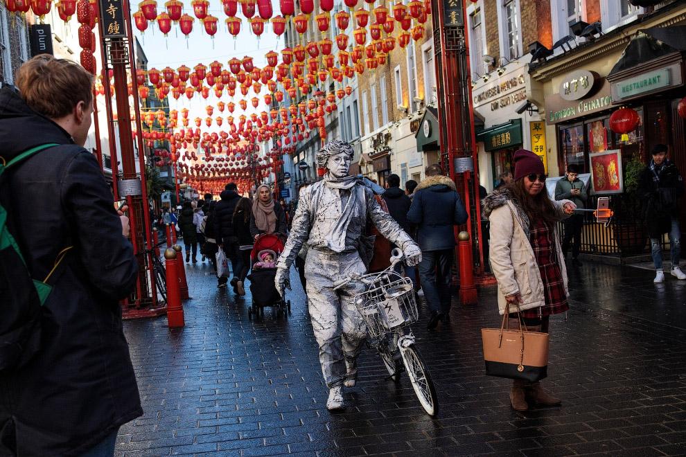 Свято в китайському кварталі в Лондоні