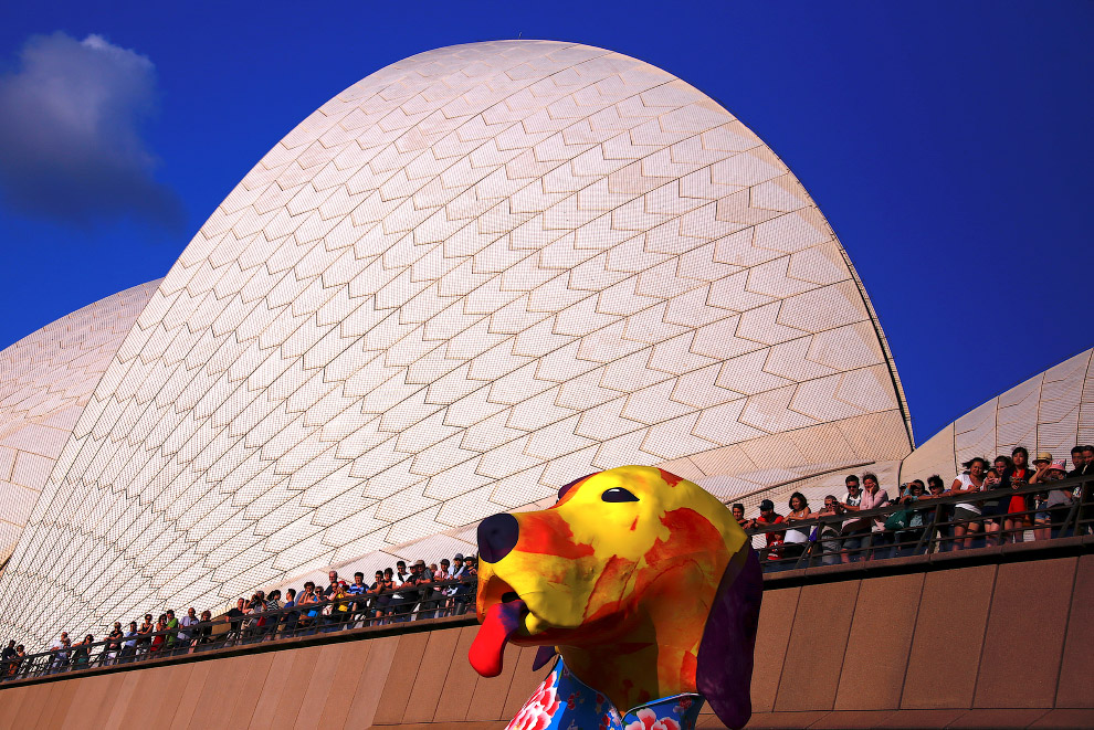 Символ року в Сіднеї, Австралія