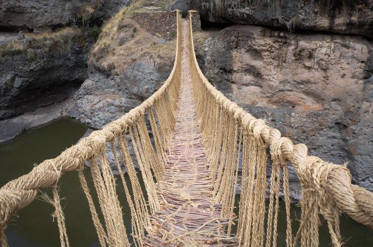 Мост Кесвачака, Перу