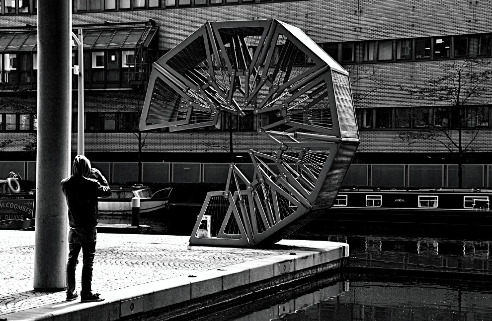 Сворачивающийся мост в Лондоне