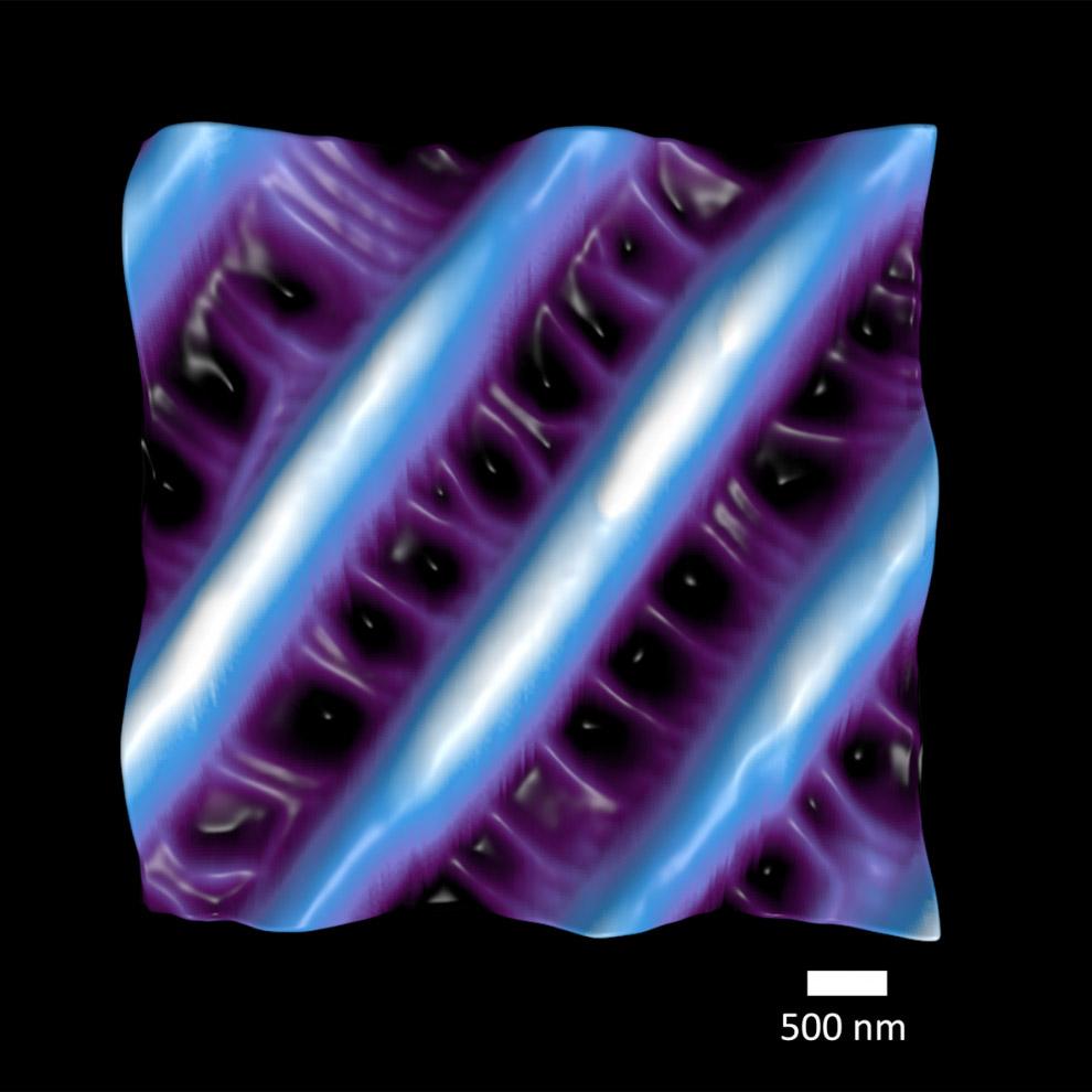 Крыло бабочки в нанометровом масштабе